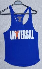 Universal Sporcu Tanktop Atlet Mavi
