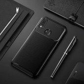 EDelfalke Huawei Honor Play Negro Silikon Kılıf-Siyah
