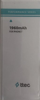 Ttec İphone 7 Batarya Pil 1960 Mah Orjinal...