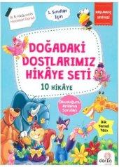 Dorya Çocuk Yayınları 1.sınıf Doğadaki Dostlarımız Hikaye Seti 10 Kitap