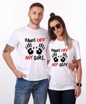 Tshirthane Hands Off Sevgili Kombini Tişörtleri