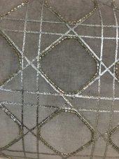 SadeHomeDecor lucky art açık füme taşlı yastık 50 cm-4