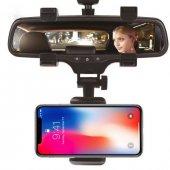 Universal Araç İçi Telefon Navigasyon Tutucu Dikiz Ayna Tutacağı