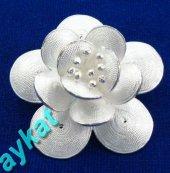 Brs 107 Telkari Gümüş Broş
