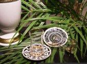 SadeHomeDecor lucky art marvel çay seti 6 lı