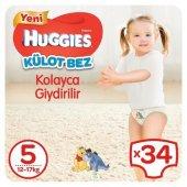 HUGGIES Pants Bebek Bezi 12-17kg Junior No:5 Unisex 34lu-3