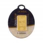 1 Gram 24 Ayar Külçe Altın