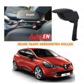 Autoen Renault Clio 4 Çelik Ayaklı Kolçak Kol Daya...