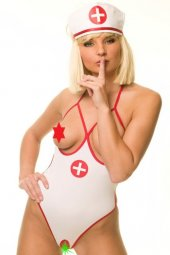 Bayan Fantazi Hemşire Kostüm (Art 2009)