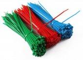 Kablo Bağı Mavi 200x4,8mm 100 Ad.