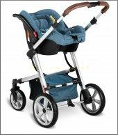 Babyhope BH-3025 Santana Travel Puset Bebek Arabası Seti-4