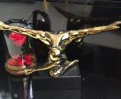 SadeHomeDecor lucky art gold renk vücut biblo 42 cm (1 adet)-2