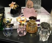 SadeHomeDecor lucky art pembe renk parfüm şişesi 6 ml