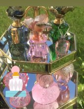 SadeHomeDecor lucky art pembe renk parfüm şişesi 6 ml-2