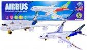 T.h.y Airbus A380 Oyuncak Uçak Küçük Boy Işıklı Se...