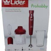 Lider Prohobby Lhb130 Blender Seti Mutfak Robotu B...