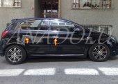 Opel Corsa D Krom Kapı Kolu 4 Kapı 2007 2015 Paslanmaz Çelik