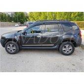 Dacia Sandero Stepway Krom Cam Çıtası 4 Parça 2006 2012 Paslanmaz