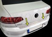 Volkswagen Passat B8 2014 Üzeri Krom Arka Tampon Eşiği
