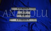 Citroen C3 Krom Kapı Eşiği 4 Parça 2010 Üzeri