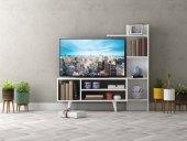 Homs Anka Tv Ünitesi Medium (Parlak Beyaz)