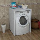 Homs Söğüt Çamaşır Makinesi Dolabı Alt Modül (P. Beyaz)