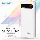 10000 Mah Powerbank Romoss Sense 4p Led Ekranlı Şa...