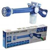 8 Fonksiyonlu Ezjet Water Deterjanlı Basınçlı Yıkama Su Tabancası