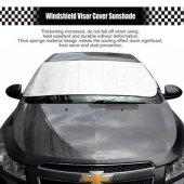 150x70cm Alüminyum Oto Araba Ön Arka Cam Kar Buz Önleyici Branda