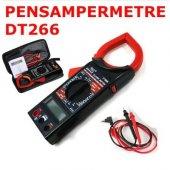 Dt 266 Digital Clamp Meter Pensampermetre...