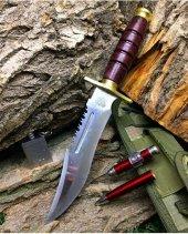 Halmak Büyük 30cm Komando Bıçağı Çakı Kamp...