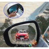 Oto Dış Ayna Yağmur Kaydırıcı Film (Çift)