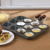 Kitchenware 12li Yapışmaz Teflon Kaplı Muffin Kek ...