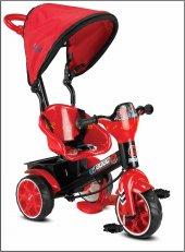 Babyhope 121 Bobo Speed 3 Teker Bisiklet Oyuncak Sepetli Muzuklı Kirmizi