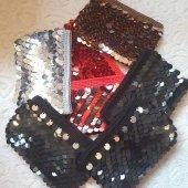 Pullu Clunc Bayan Çanta ( Siyah )