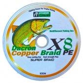 Freecamp Copper 8 Braid 100mt 0,50mm Olta Misinası