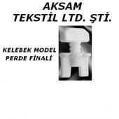 50 Adet Perde Finali (Kelebek Model)