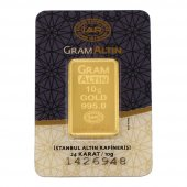 10 Gram Külçe Altın  24 Ayar