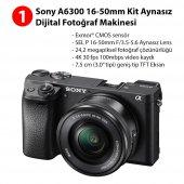 Sony A6300 16-50mm Kit + Aksesuar Seti-2