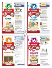Analiz 6. Sınıf Tüm Dersler Yaprak Test 4lü YENİ