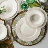 Kütahya Porselen Bone İrem 24 Parça 6 Kişilik Yemek Takımı