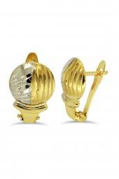 Cigold 14 Ayar Taşsız Küpe K1küp1530000722