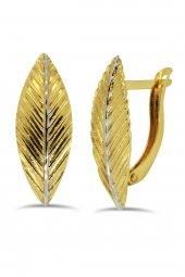 Cigold 14 Ayar Taşsız Küpe K1küp1820000734