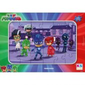 Ks Games Pj Masks 24 Parça Çocuk Puzzle Pijamaskeliler