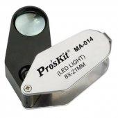 Proskit Ma 014 Büyüteç 8x Illumınated Çap 21mm
