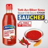 Sauchef Sweet Chili Sauce (Tatlı Acı Biber...