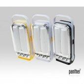 PANTHER PT-1528 PİLLİ MİNİ IŞILDAK+3 LED FENER
