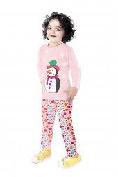 Uzun Kollu Pijama Baskılı Çocuk Kıyafeti