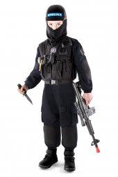 Polis Kostümü Çocuk Özel Harekat Kıyafeti
