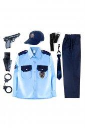 Türk Polis Kostümü Çocuk Kıyafeti-2